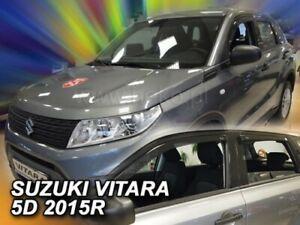 Wind deflectors for SUZUKI VITARA - II  2014 - ON   5.doors  4.pc  HEKO 28649