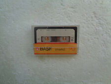 Audio Cassette BASF LH Extra I 90 From 1984 - Fantastic Condition !! White