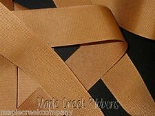 "3yd of Antique Gold 5/8"" Grosgrain Ribbon 5/8"" x 3 yards neatly wound"
