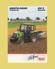 DEUTZ FAHR DX 3.10 3.30  3.50  3.60  3.65 VarioCab Schlepper Original 1986