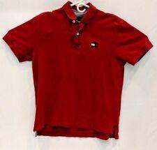 Tommy Hilfiger Polo Shirt Men Size Large Cotton Short Sleeve