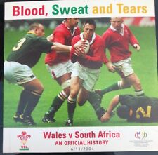 Video DVD Blood Sweat And Tears Wales V South Africa Official History 6/11/2004