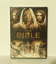 The Bible (DVD, 2013, 4-Disc Set) NEW AUTHENTIC REGION 1