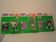 Starting Lineup Football Figures 3 New England Patriots Drew Bledsoe Ben Coates