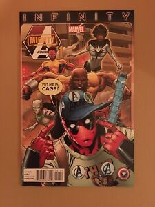 Mighty Avengers #1 2013 Deadpool Cover NM/NM+ (9.4-9.6) 1st Spectrum Wandavision