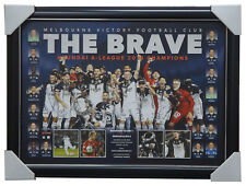 Melbourne Victory 2018 A-League OFFICIAL Champions Team Print Framed - KOSTA
