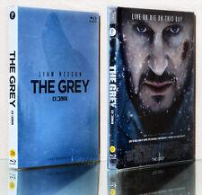 THE GREY (20111) [Blu-ray] with Slip Case~ Liam Neeson, NEW / (Region A)