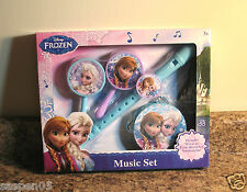 Disney Frozen Boxed Music Set Musical Instruments New