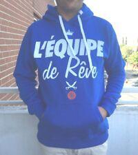 DRMTM l'equipe Hoodie Kapuzenpullover L Sweatshirt Kapuze Pullover Sweater long