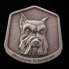 Miniature Schnauzer Fine Pewter Dog Breed Ornament