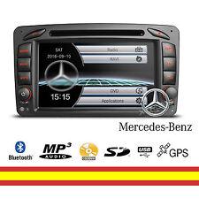 Pantalla Mercedes Radio CD DVD GPS Bluetooth Screen mirroring con Canbus