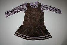 New Rabbit Moon Soft Velour Jumper Dress & Top Set 4T NWT Leopard Long Sleeve