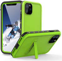 For iPhone 11 Pro Max Waterproof Shockproof Case Cover Built-in Stand Protection