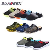 Mens Clogs Sandals Slip On Garden Casual Slider Mules Garden Beach Water Shoes