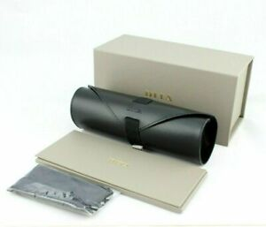 NEW Genuine DITA Glasses Box Leather Roll Case Cleaning Cloth Sunglass Packaging