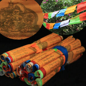 Tibetan Buddhist Prayer Flags Contain 20 Flags Tibetan Scriptures 5 Meters Decor
