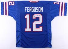Joe Ferguson Signed Bills Jersey (JSA COA) NFL passing yards leader (1977)