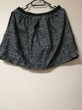 BNWT country road womens ladies Tulip Skirt wool size Small charcoal skirt