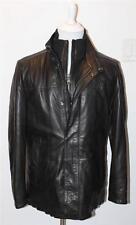 AUTH $1195 Boss Hugo Boss Men's Funko Lambsleather Jacket 42R/L