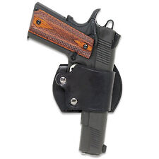Leather YAQUI Holster - Colt / Kimber 1911 (#045 BLK)