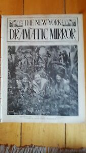 August 13, 1910 New York Dramatic Mirror with Margaret Malcolm, Dresser, Ring
