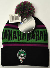 DC Comics Joker Toque - One Size [Clothing Apparel, Outerwear, Unisex, Beanie]