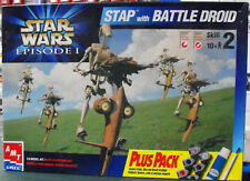 AMT Star Wars Episode 1 1/6 STAP w/Battle Droid 30124 UNSEALED