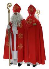 Santa Claus Costume Saint Nicholas Suit Outfit Père Noël Papá Noel Vestment SC2