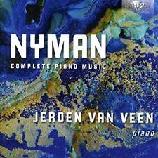 Jeroen van Veen - Nyman Complete Piano Music [CD]