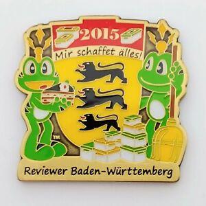 Reviewer Baden Württemberg 2015 Geocoin - LE AG - nicht aktiviert