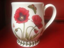Portmeirion Mug Botanic Garden Coquelicots African Lily BUTTERFLY BRAND NEW Tankard
