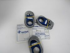 SELET INDUCTIVE RING TYPE PROXIMITY SWITCHES EN 60947-5-2, OTY 3