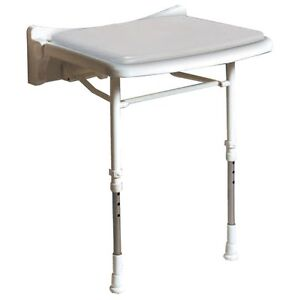 AKW 02010 - 02010P - 02210P STANDARD FOLD UP 2000 SERIES SHOWER SEAT WITH LEGS