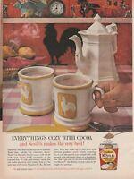 """NESTLE SWEET MILK COCOA Vintage 1960's 8"""" X 11.25"""" Magazine Ad STP5"""