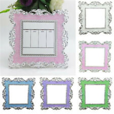 Resin Elegant Single Light Switch Surround Socket Finger Plate Panel Decor Cover