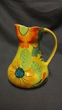 "Attractive Hand Painted Art Deco 5.75"" Jug - Wade Heath No787794"