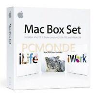 Apple Mac Box Set v.10.6 Snow Leopard Family Pack Intel-based Mac - MC210Z/A