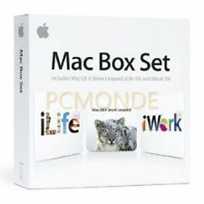 Apple Mac Box Set v.10.6 Snow Leopard Family Pack Intel-based Mac - MC210Z/A