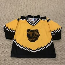 VTG Boston Bruins Pooh Bear NHL Hockey Jersey CCM 1990s Toddler One Size