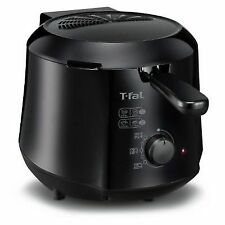 T-fal Cool-Touch Mini Deep Snacking Fryer FF230850 - Black / 1.2-Liter - New