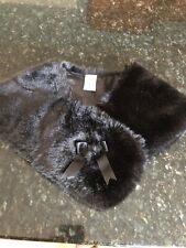 Gymboree Prim and Proper Faux Fur Stole/Scarf/Wrap Holiday NEW one size 4 5 6 7