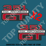 VINTAGE FORD GT  351 DECAL STICKER RETRO FORD HOT ROD RAT ROD STICKERS
