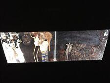 "Gustav Klimt ""Beethoven Frieze"" Austrian Art Nouveau 35mm Glass Art Slide"