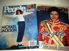 LOT OF 2~MICHAEL JACKSON Magazines~The Talent & Tragedy by People & KING OF POP