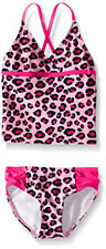 New listing Kanu Surf Girls' Big Candy Beach Sport 2-Piece Tankini Swimsuit, Shannon Pink Le