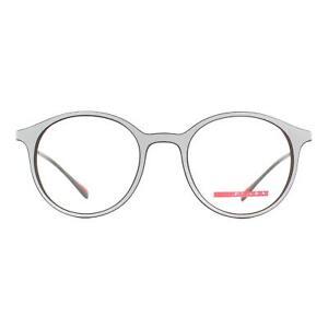 Prada Sport Eyeglasses PS02IV VY01O1 Gray with Brown Inner Rubber Men