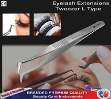 Eyelash Extension Tweezers for Russian 3D,4D,6D Volume Lashes Extensions L-Type