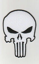 PUNISHER  PATCH  ECUSSON  Patch thermocollant  Tête de mort TETE DE MORT