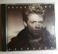 Bryan Adama .. Reckless by Bryan Adams CD