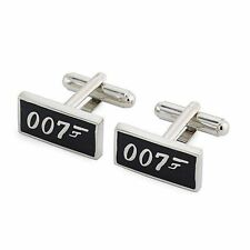 007 James Bond Cufflinks Mens Business Shirt Sleeve Cuff Link Work -In Gift Box